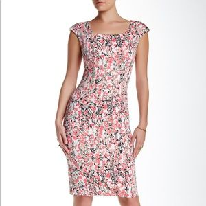 LK Bennett Valdez Dress in Floral Print